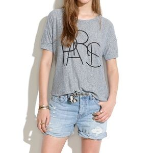Madewell Tops - Madewell Paris Banded T-shirt